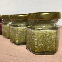 Green Army Salt Scrubs